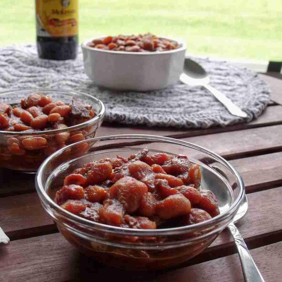 Molasses Lovers Baked Lima Beans