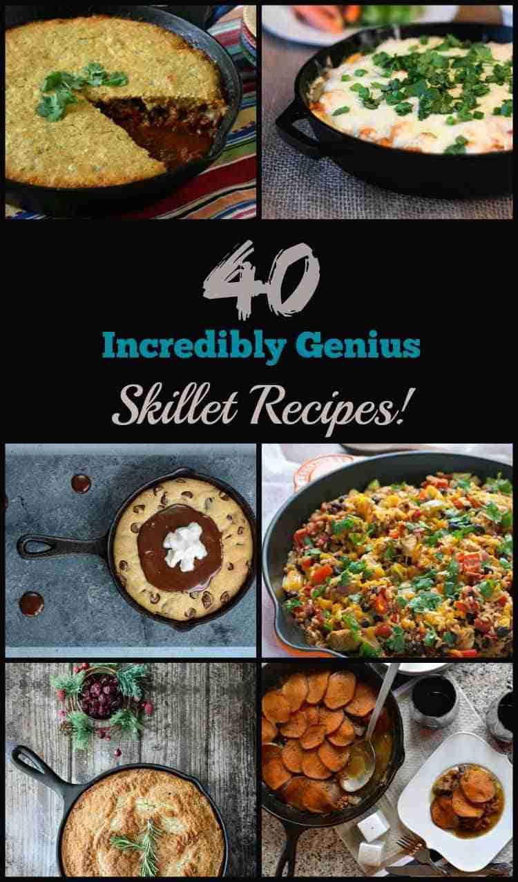 40 Incredibly Genius Skillet Recipes!