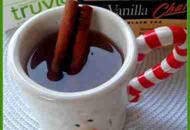 Sweet Apple Vanilla Chai Tea