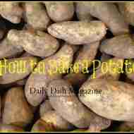 baked potatoes for DD