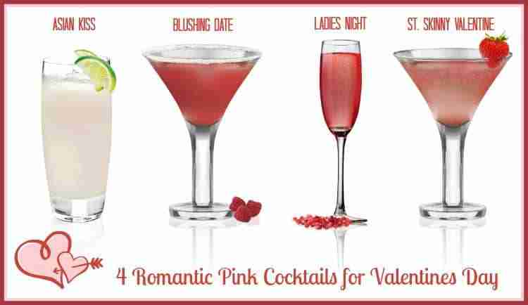 Valentine Cocktail Party Ideas Part - 31: Pink Cocktails For Valentines Day