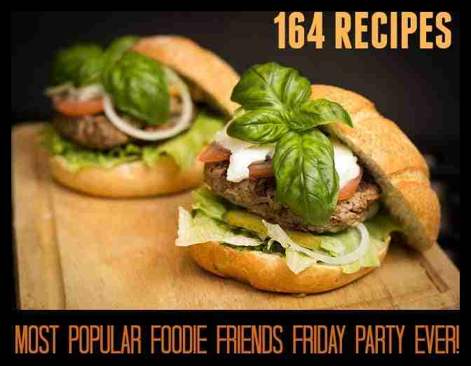 162 Recipes from our most popular Foodie Friends Friday Party ever!