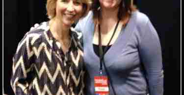 Samantha Brown and Tracy Iseminger of Daily Dish Magazine at Bay Area Travel and Adventure Show 2015