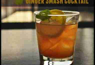 Ginger Smash Cocktail