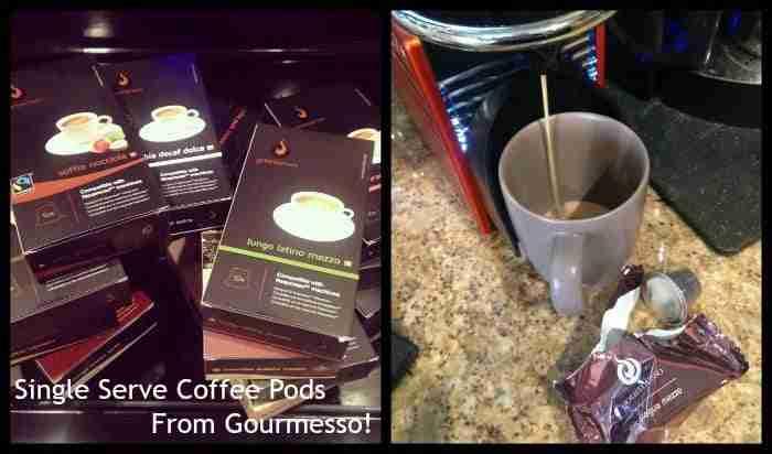 Gourmesso Espresso Pods for Nespresso Machines