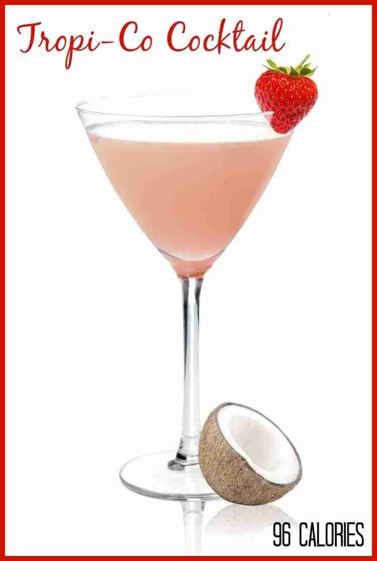 Ty Ku Tropi-Co Cocktail - Only 96 Calories!