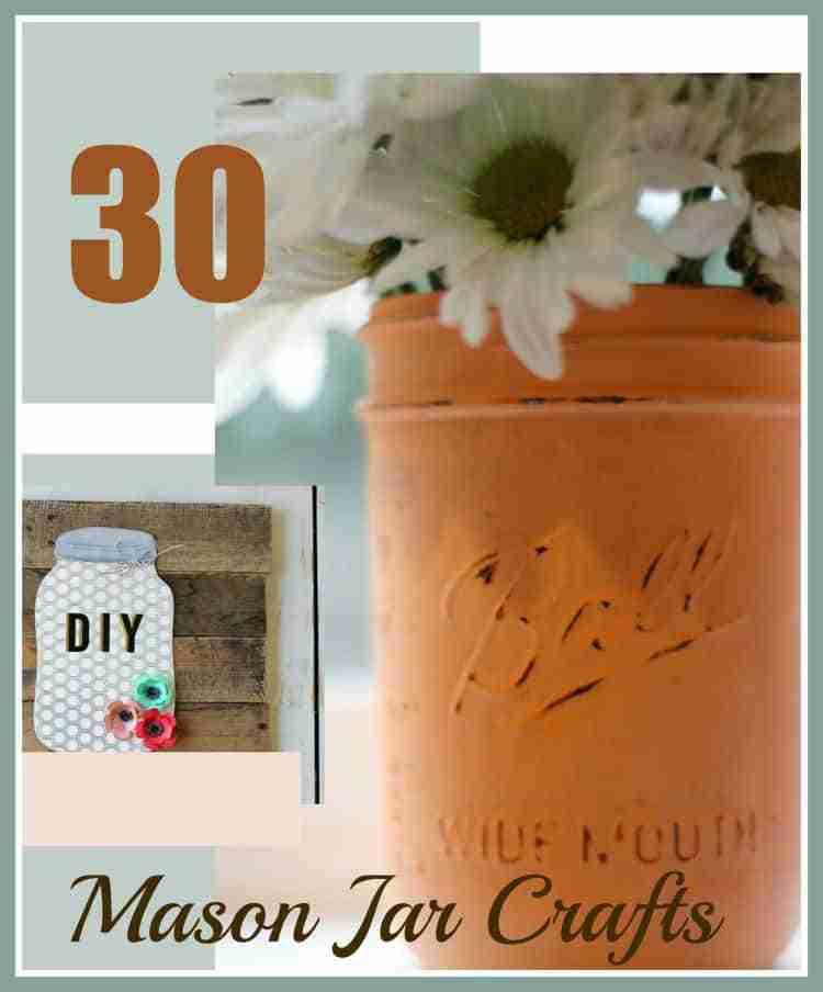 30 Mason Jar Crafts