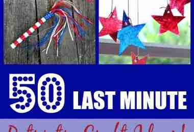 50 Last Minute Patriotic Craft Ideas!