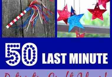 50 Last Minute Patriotic Craft Ideas!
