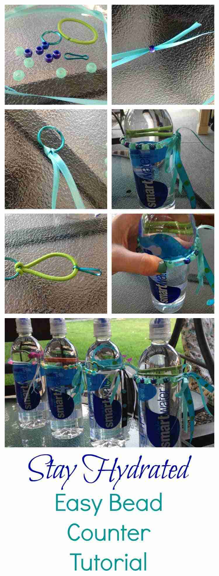 Easy Bead Counter Tutorial for Water Bottles! Stay Hydrated by Making Sure You Drink Enough Water!