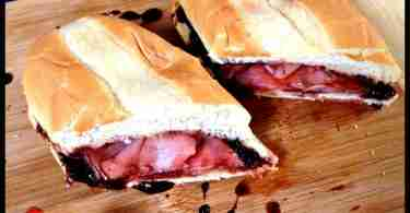 Cherry Dr Pepper Glazed Ham Sandwiches