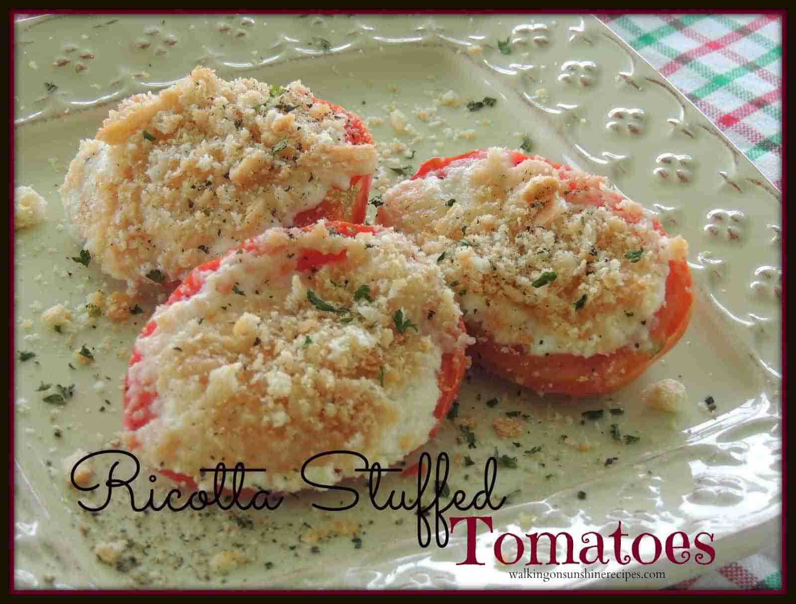Stuffed tomatoes promo
