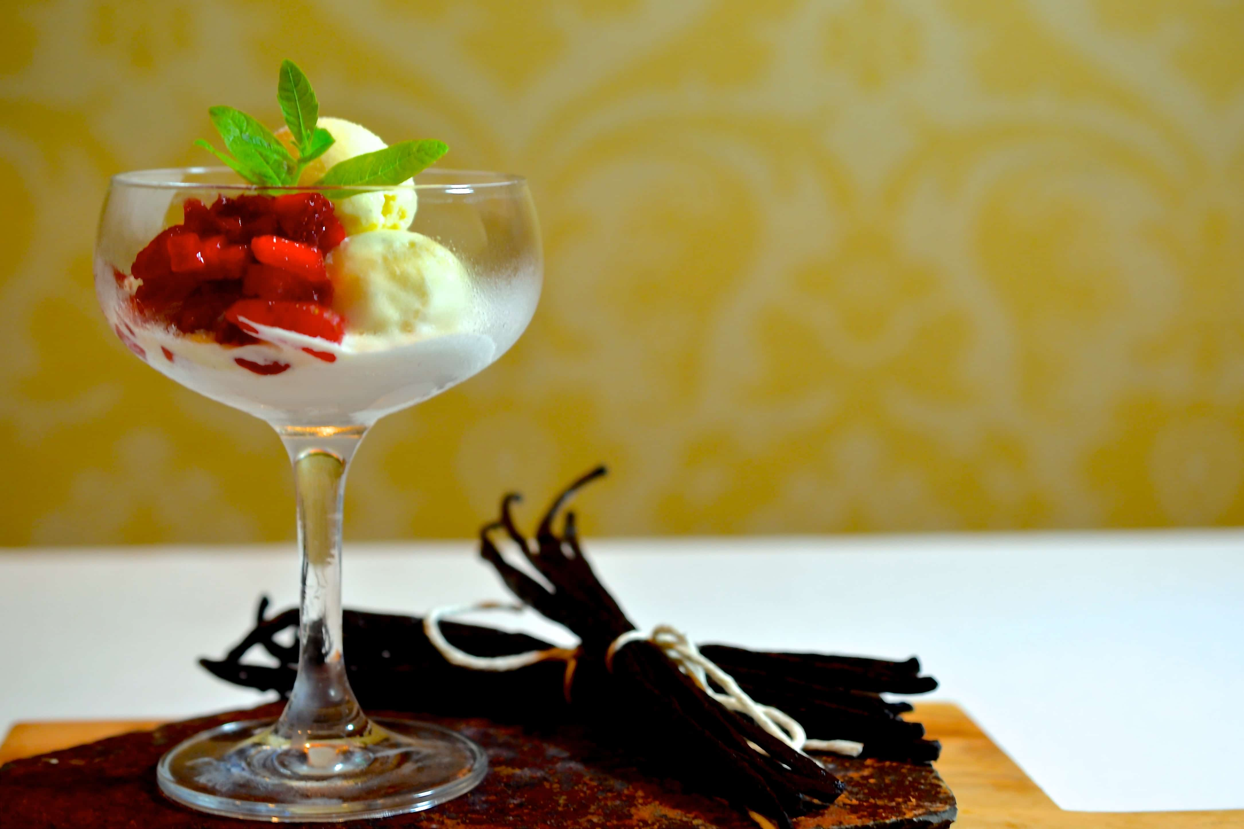 Three Vanillas Ice Cream Recipe