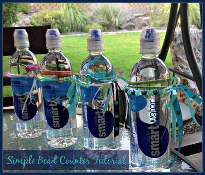 Bead Counter Tutorial for Water Bottles