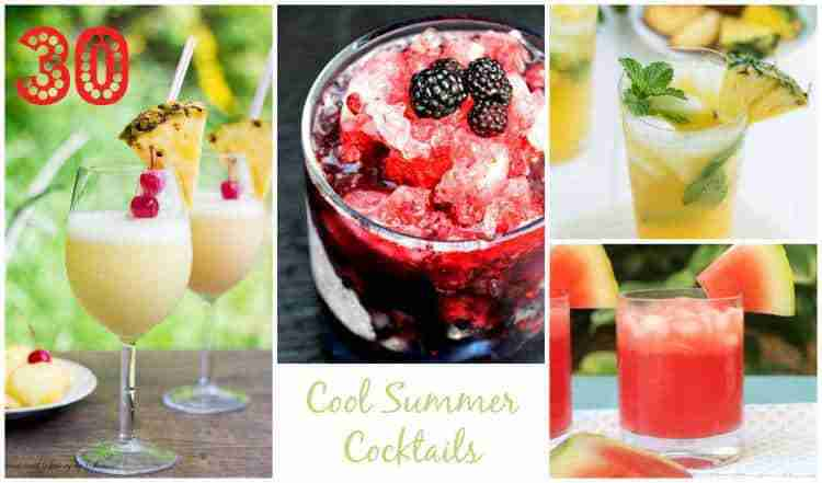 30 Cool Summer Cocktails!