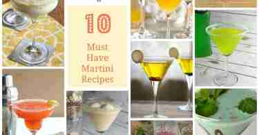 10 Martini Recipes