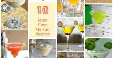 10 Martini Recipes