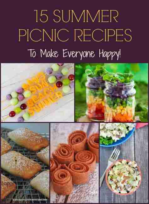 15 Summer Picnic Recipes to Make Everyone Happy