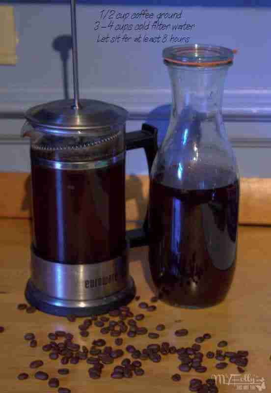 Cold brewed coffee / Iced Coffee