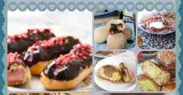 20 Cream Filled Donut Recipe for National Cream Filled Donut Day - September 14