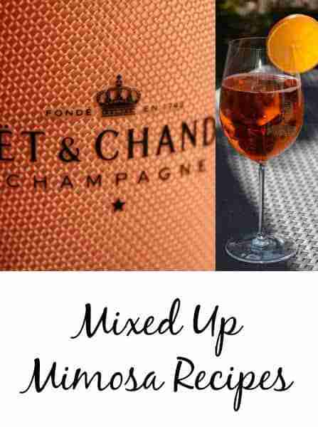 Mixed Up Mimosa Recipes - Not Your Ordinary Mimosas!