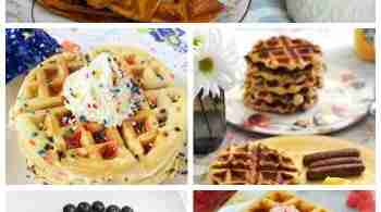 National Waffle Day - 17 Waffle Recipes You Don't Want to Miss!