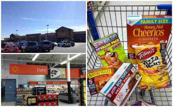 Find Box Tops at Walmart