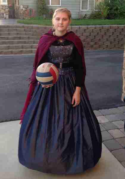 Queen Elsa Halloween Costume - Thrift Shop Costumes