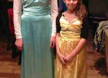 Thrift Shop Halloween Costumes - Elsa & Belle