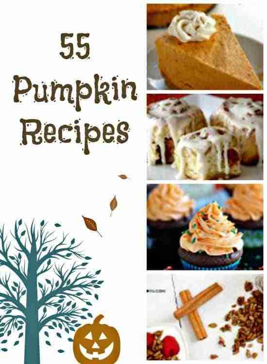 55 Pumpkin Recipes for Fall