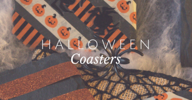Simple, inexpensive Halloween Coasters to make.