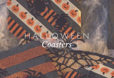 Simple, inexpensive Halloween Coasters to make.