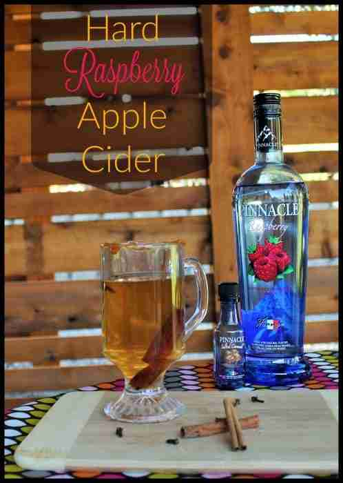 Hard Raspberry Apple Cider