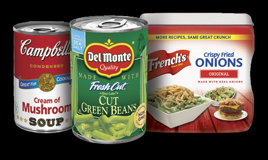 Green Bean Casserole Essential Ingredients