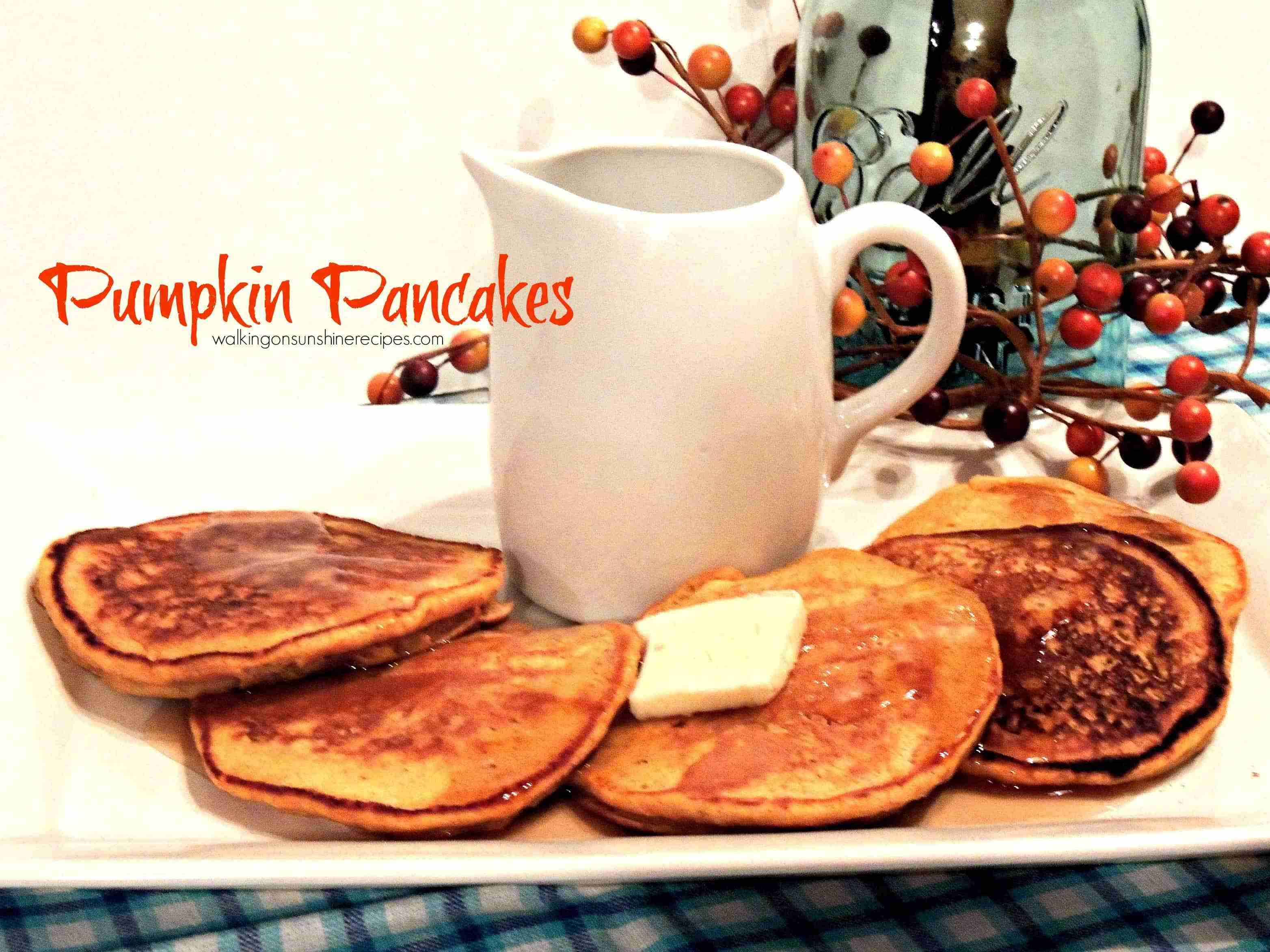 pumpkin pancakes promo