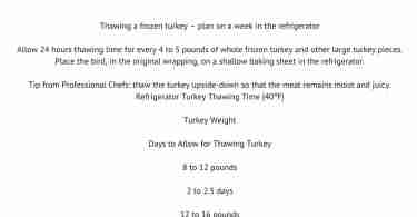 Turkey 101 Tips - Turkey Talk