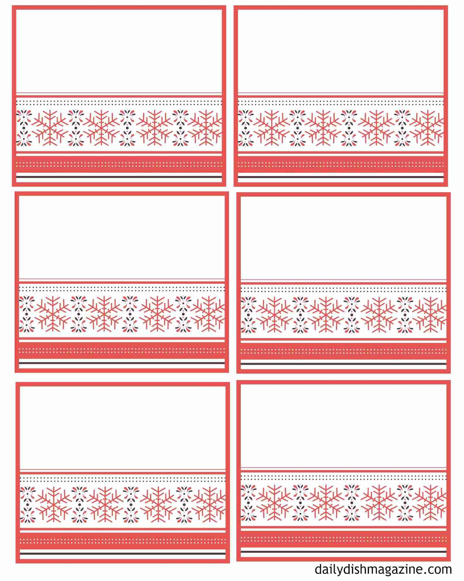 christmas memory jar label writing pages free printables
