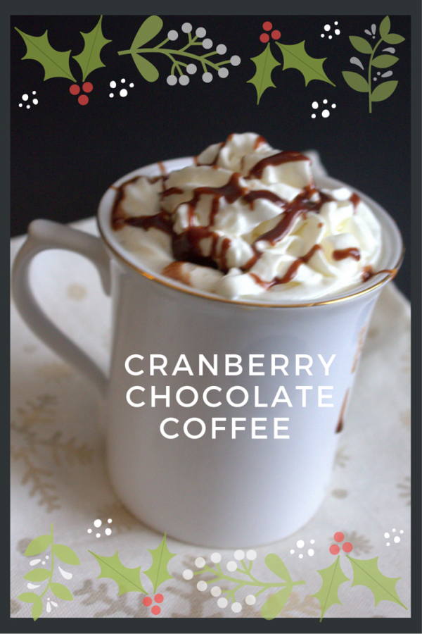 Make your holidays special with Cranberry Chocolate Coffee