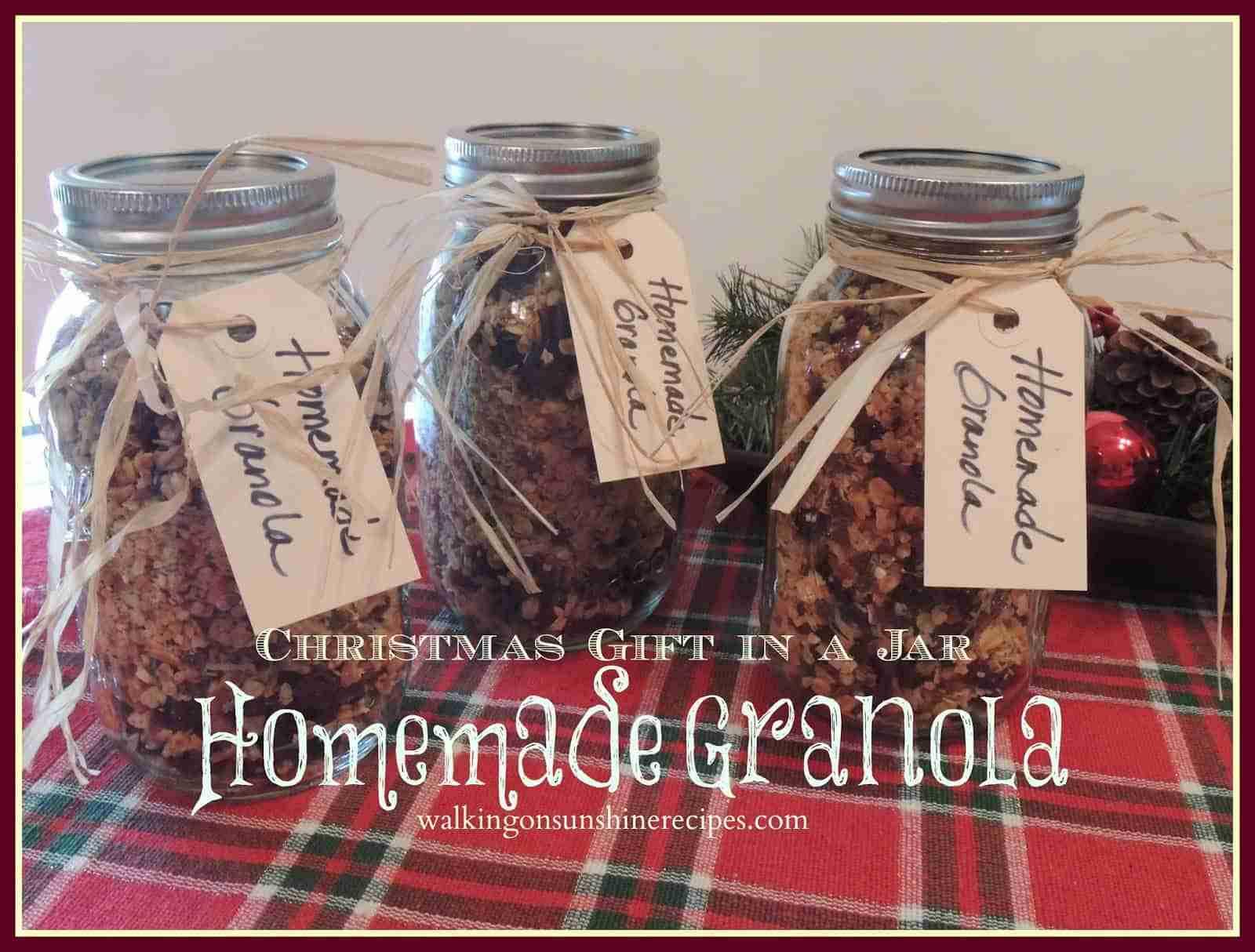 Granola Christmas Gift promo
