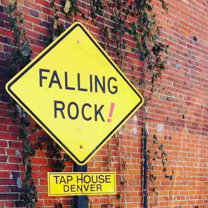Falling Rock Tap House Denver Colorado