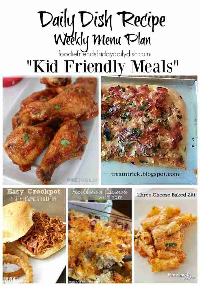Kid Friendly Meals for DDR