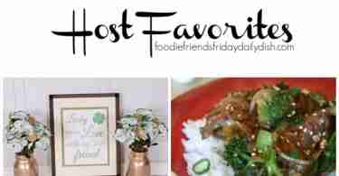 Here are the Host Favorites from Foodie Friends Friday Linky Party #186.