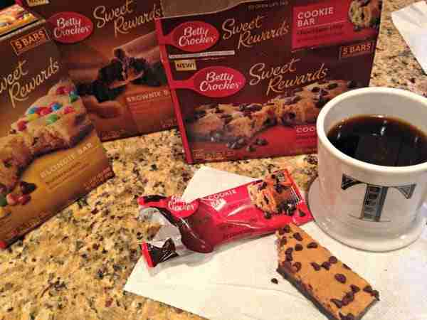 Betty Crocker Soft Baked Sweet Rewards Bars
