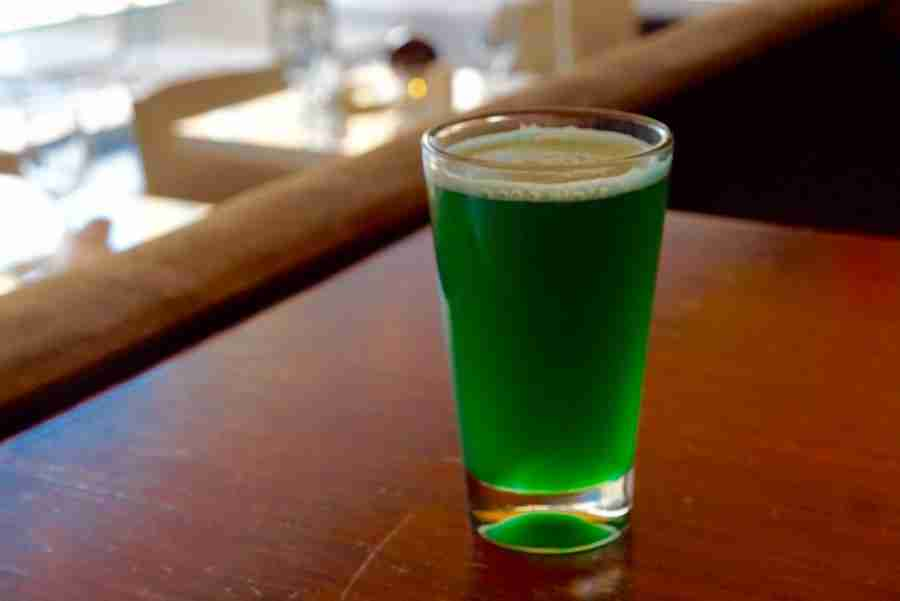Luck o' the Irish Green Beer