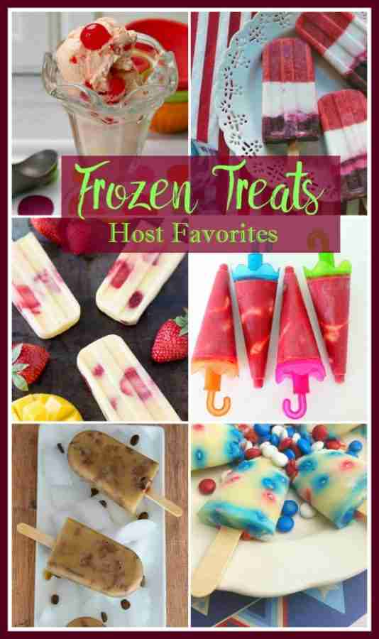 Frozen Treats - Host Favorites featured on Daily Dish Magazine