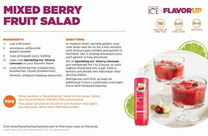 Mixed Berry Fruit Salad Recipe