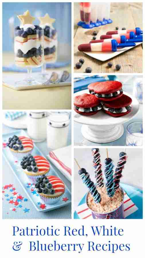 Patriotic Red, White and Blueberry Recipes