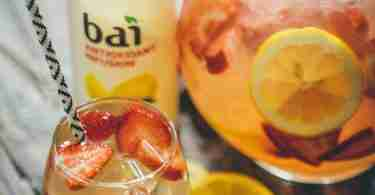 Bai Strawberry Limu Lemonade Cocktail