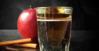 Chilled Apple Pie Shot