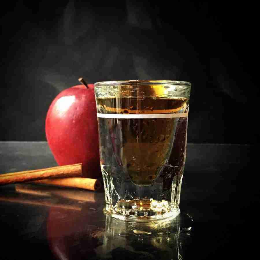 Chilled Apple Pie Shot